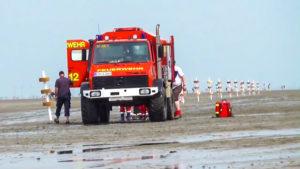 Unfall Cuxhaven – Feuerwehr Cuxhaven Duhnen hilft