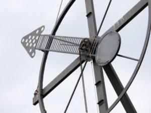 Windsemaphor Cuxhaven – Windstärkemesser an der Alten Liebe in Cuxhaven Döse