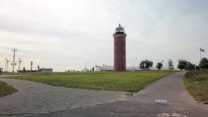 Hamburger Leuchtturm Cuxhaven an der Alten Liebe | Leuchtfeuer Cuxhaven