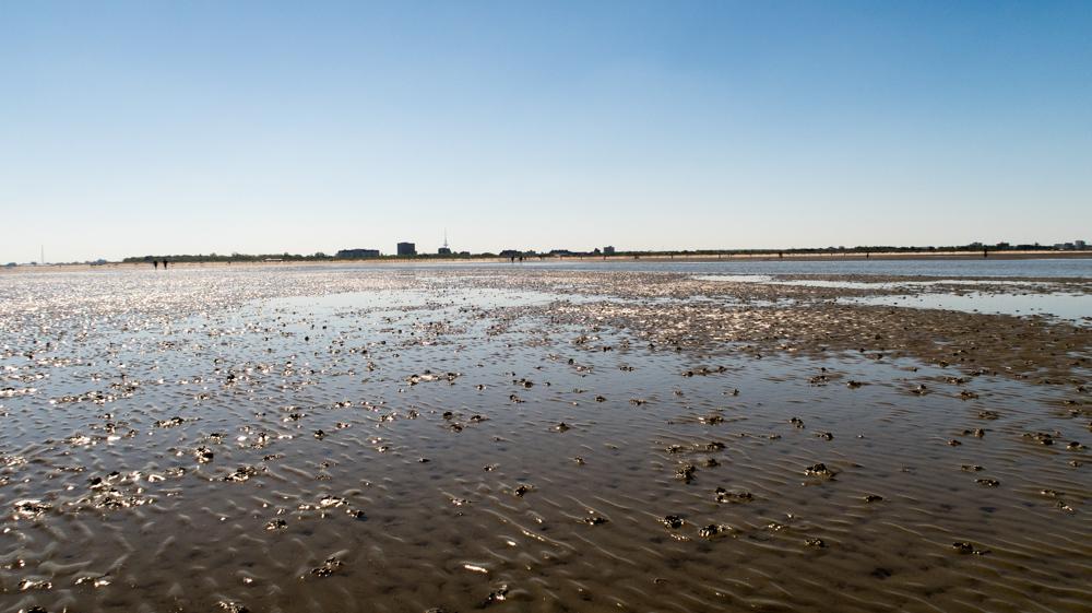 wattwendern cuxhaven duhnen - Cuxhaven Duhnen - Ebbe und Flut | Die Flut kommt