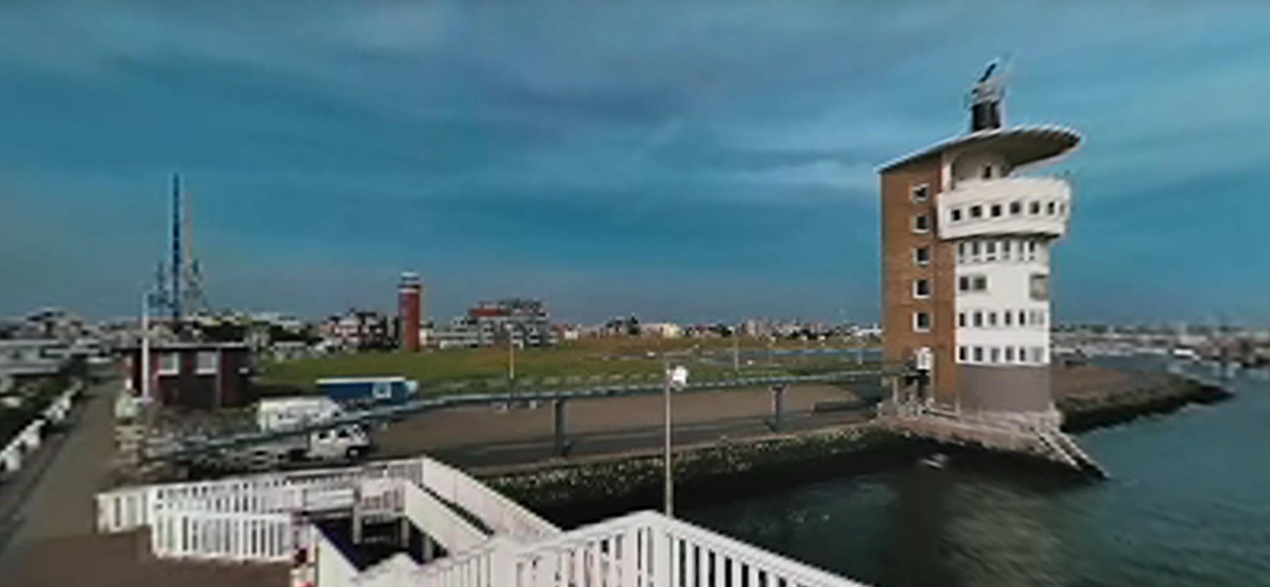 Alte Liebe Cuxhaven - Like a Webcam Alte Liebe - 360 Grad Video vom Alte Liebe Hafen [ Video ]