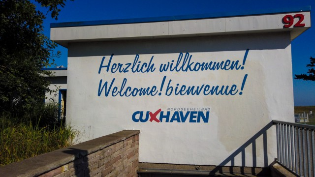 Herzlich Willkommen - SAD Cuxhaven - Schiffsansagedienst Cuxhaven mit Live Cam SAD Webcam