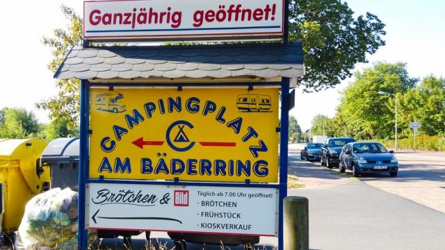 Campingplatz Am Baederring - Camping Wattenlöper Cuxhaven-Duhnen in Strandnähe