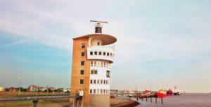 Radarturm Cuxhaven an der Alten Liebe 2019