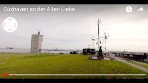 Nordseeheilbad Cuxhaven Alte Liebe – 360 Grad Video