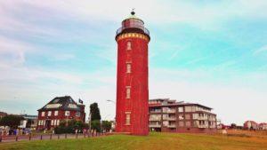Cuxhaven Hafen und die Alte Liebe in den Morgenstunden