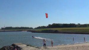 Kitesurfen Cuxhaven Kugelbake [ Video ]