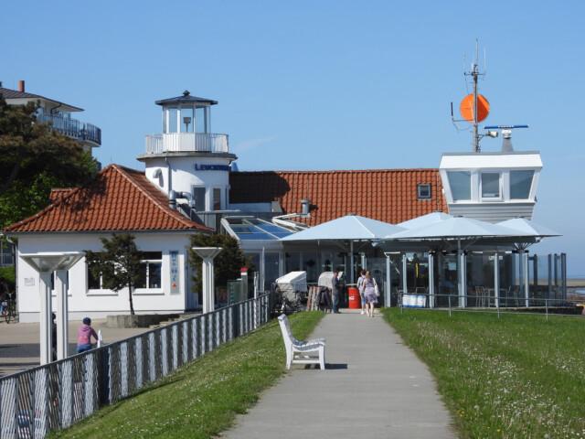 Alte Lesehalle Duhnen 2 - Alte Lesehalle Duhnen [ Bilder ] - Früher Lesehalle und nun Restaurant