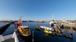 Alte Liebe Cuxhaven Alter Hafen Cuxhaven & Windstärkemesser