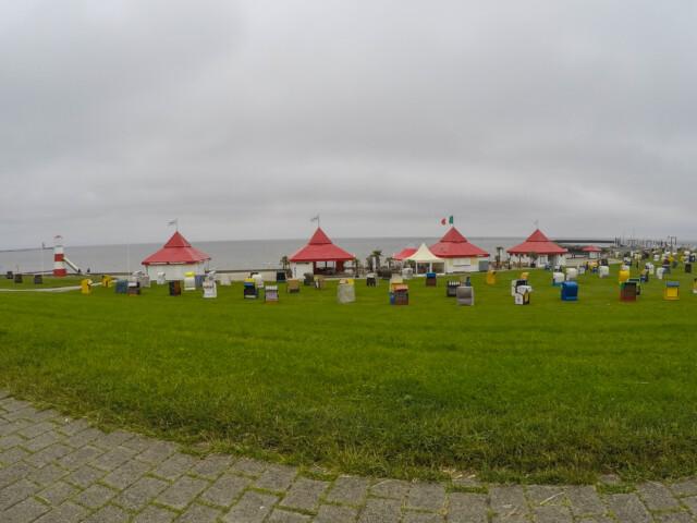 Cuxhaven Doese Grimmershoerner Bucht 2 - Grimmershörner Bucht in Cuxhaven Döse - Urlaub in Döse [ Video ]