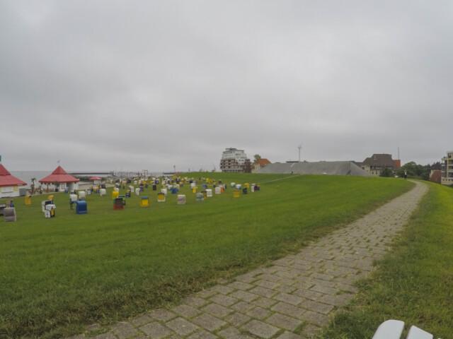 Cuxhaven Doese Grimmershoerner Bucht 40 - Grimmershörner Bucht in Cuxhaven Döse - Urlaub in Döse [ Video ]