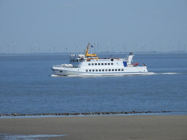 DSCN1455 - MS Flipper Fahrplan - Per Schiff nach Neuwerk [ Bilder ]
