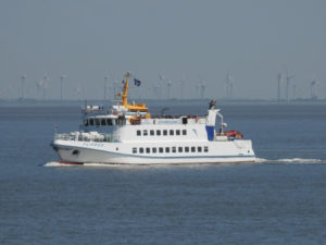 Neuwerk Schiff MS Flipper – Per Schiff nach Neuwerk [ Bilder ]
