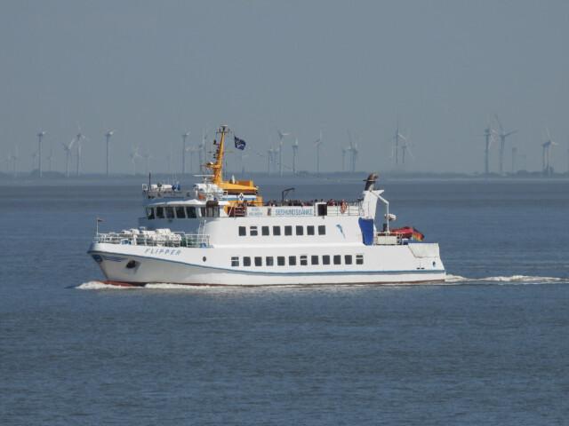 DSCN1456 - MS Flipper Fahrplan - Per Schiff nach Neuwerk [ Bilder ]