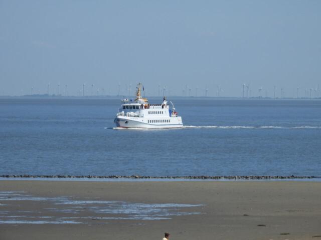 DSCN1457 - MS Flipper Fahrplan - Per Schiff nach Neuwerk [ Bilder ]