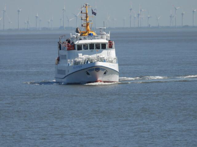 DSCN1458 - MS Flipper Fahrplan - Per Schiff nach Neuwerk [ Bilder ]