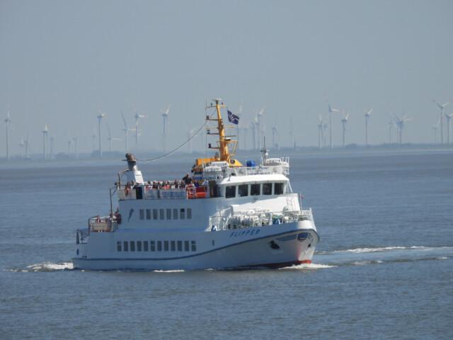 DSCN1459 - MS Flipper Fahrplan - Per Schiff nach Neuwerk [ Bilder ]