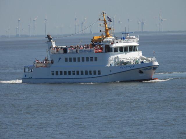 DSCN1460 - MS Flipper Fahrplan - Per Schiff nach Neuwerk [ Bilder ]