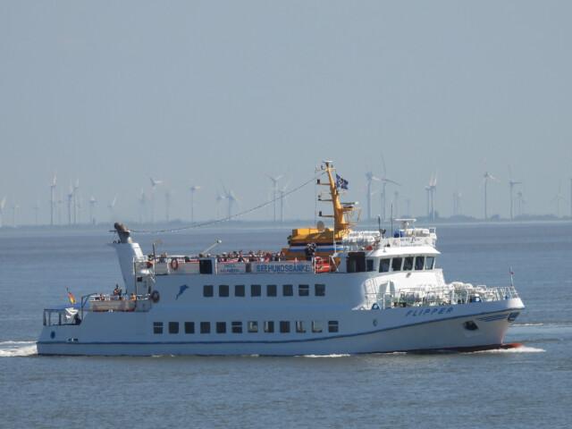 DSCN1461 - MS Flipper Fahrplan - Per Schiff nach Neuwerk [ Bilder ]