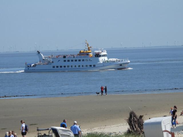 DSCN1462 - MS Flipper Fahrplan - Per Schiff nach Neuwerk [ Bilder ]