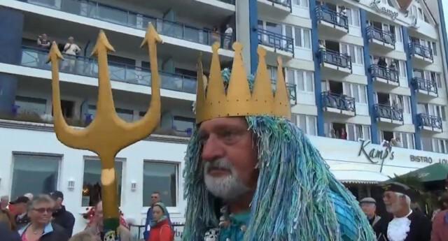 Eroeffnung Duhner Wattrennen vor Strandhotel Duhnen 6 - Duhner Wattrennen 2013 - Eröffnung mit Minsterpräsident Stephan Weil [ Video ]