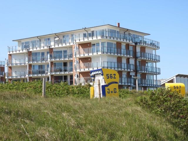 Cuxhaven Duhnen Ferienwohnung mit Meerblick Christiansen
