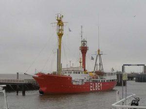 Feuerschiff Elbe 1 in Cuxhaven – Feuerschiff Nordsee