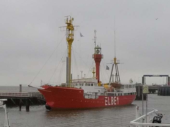 Feuerschiff Elbe 1 - Heiraten Cuxhaven - Heiraten in außergewöhnlichen Ambienten [ Bilder ]