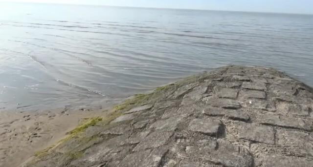 Gezeiten Ebb und Flut 6 - Ebbe und Flut Nordsee in Cuxhaven-Duhnen   Gezeiten der Nordsee [ Video ]