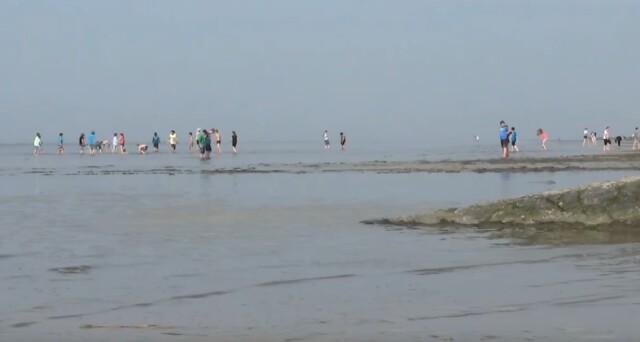 Gezeiten Ebb und Flut 7 - Ebbe und Flut Nordsee in Cuxhaven-Duhnen   Gezeiten der Nordsee [ Video ]