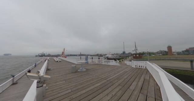 Hafen von Cuxhaven - Pier Alte Liebe in Cuxhaven [ Video ]