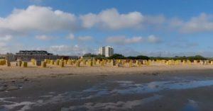 Cuxhaven Döse Strand im Juni 2020. Video vom Strand Urlaub