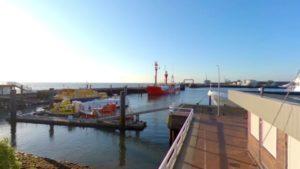 Panorama Video – Cuxhaven Alte Liebe mit alten Hafen | [ Video ]