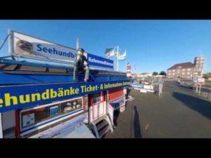 Like a Webcam Alte Liebe – 360 Grad Video vom Alte Liebe Hafen [ Video ]