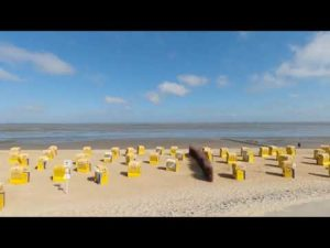 Strand Duhnen in Cuxhaven Duhnen [ Video ]