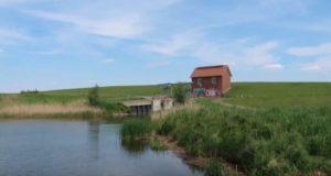 Webcam Altenbruch Panorama mit Weltschiffahrtsweg Elbe