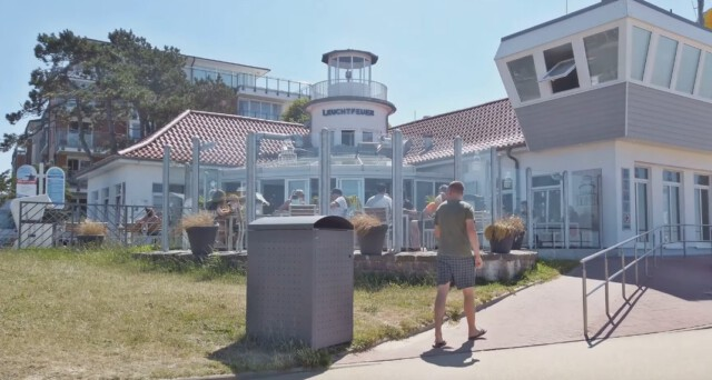 Die alte Laserhalle in Duhnen  - Cuxhaven Tourismus - Willkommen in Cuxhaven Duhnen  [ Video ]