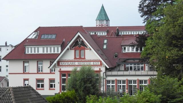 Cuxhaven Kaserne - Altes Stabsgebäude der Grimmershörnkaserne Cuxhaven