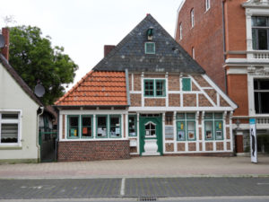 Ringelnatz Museum Cuxhaven gegenüber Schloss Ringelnatz