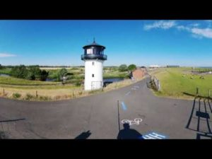 Leuchtturm Dicke Berta in Altenbruch | 360 Grad Video