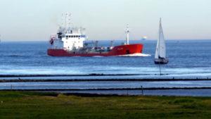 Cuxhaven Schiffe gucken