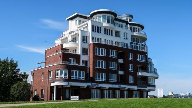 Haus Seeterrassen Grimmershoernbucht - Haus Nautic - Ferienwohnung mit Meerblick