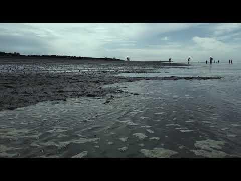gezeiten duhnen cuxhaven geteite - Cuxhaven Duhnen - Ebbe und Flut | Die Flut kommt