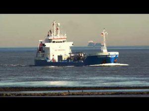 Shipspotting Cuxhaven-Altenbruch am Weltschiffahrtsweg