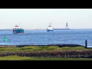 Große Schiffe vor Cuxhaven – Cuxhaven Schiffe gucken