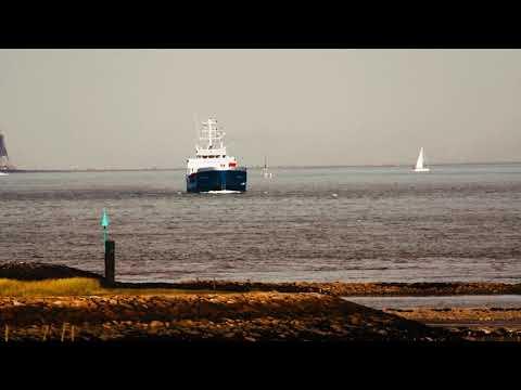 schiffe vor cuxhaven shipspottin - Große Schiffe vor Cuxhaven - Cuxhaven Schiffe gucken