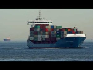 Shipspotting in Cuxhaven 08/2020 – Große Containerschiffe vor Cuxhaven