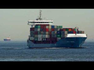Shipspotting Cuxhaven 08/2020 – Große Containerschiffe vor Cuxhaven