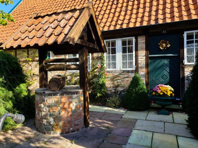 Das Alte Deichhaus - Das Alte Deichhaus in der Schillerstraße im Lotsenviertel von Cuxhaven