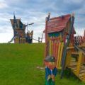 Erlebnisspielplatz auf der Leuchtturmwiese in Dorum Neufeld 120x120 - Sielhafen in Dorum-Neufeld - Yachthafen an der Wurster Nordseeküste